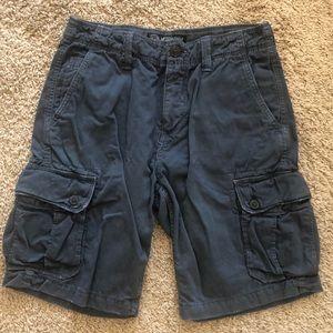 American Eagle Outfitters Mens Khaki Cargo shorts